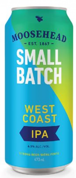 Small Batch West Coast IPA by Moosehead in New Brunswick, Canada