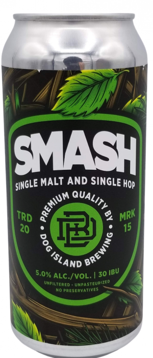 SMASH by Dog Island Brewing in Alberta, Canada