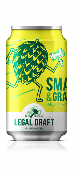 Smash & Grab by Legal Draft Beer Co. in Texas, United States