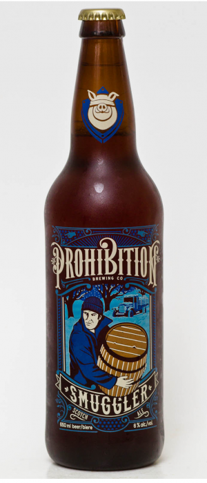 Smuggler by Prohibition Brewing in British Columbia, Canada