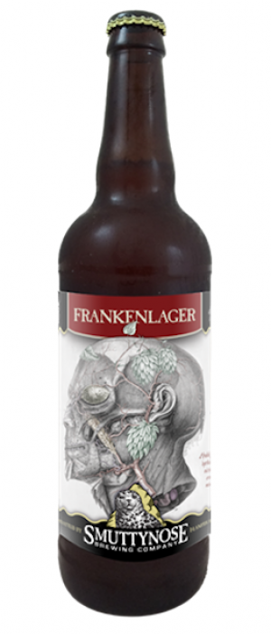 Frankenlager by Smuttynose Brewing Company in New Hampshire, United States