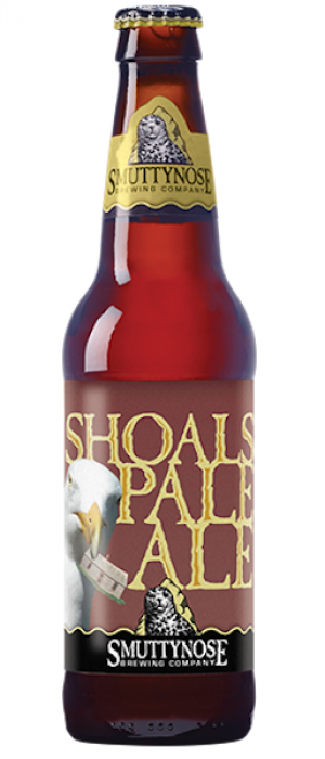 Shoals Pale Ale by Smuttynose Brewing Company in New Hampshire, United States