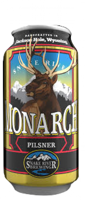 Monarch Pilsner by Snake River Brewing in Wyoming, United States