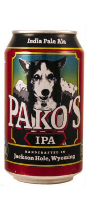 Pako's IPA by Snake River Brewing in Wyoming, United States