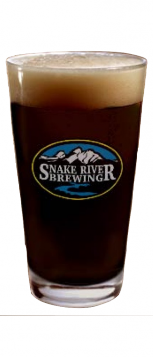 Speargun Coffee Milk Stout by Snake River Brewing in Wyoming, United States