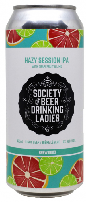 Society of Beer Drinking Ladies Brew 0003 by Henderson Brewing Co. in Kentucky, United States