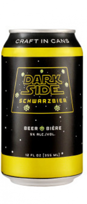 Dark Side Schwarzbier by Something Brewing in Alberta, Canada