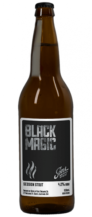 Black Magic by Sons of Kent Brewing Company in Ontario, Canada