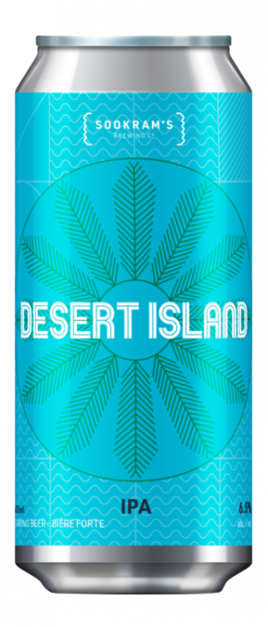 Desert Island by Sookram's Brewing Company in Manitoba, Canada