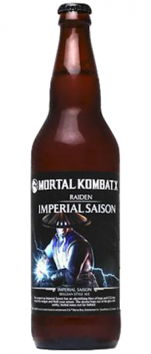 Mortal Kombat X: Raiden Imperial Saison by Sound Brewery in Washington, United States