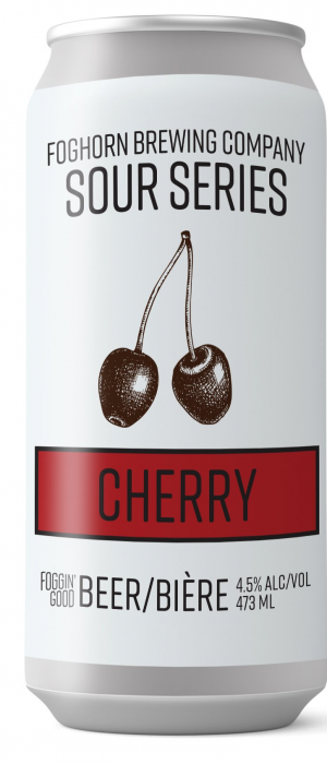 Sour Series: Cherry by Foghorn Brewing Company in New Brunswick, Canada
