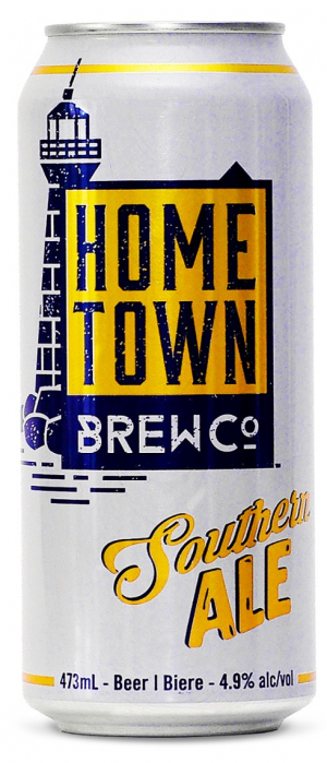 Southern Ale by Hometown Brew Co. in Ontario, Canada