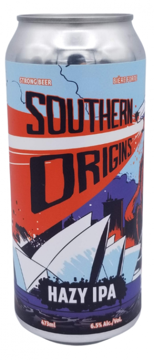 Southern Origins by O.T. Brewing Company in Alberta, Canada