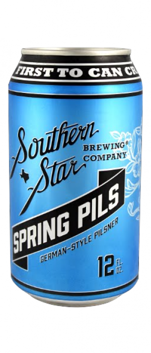 Spring Pils by Southern Star Brewing Company in Texas, United States