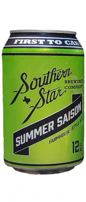 Summer Saison by Southern Star Brewing Company in Texas, United States