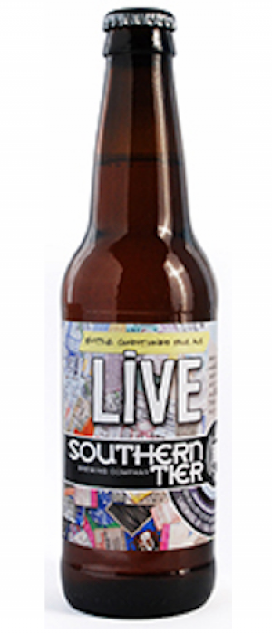 Live by Southern Tier Brewing Company in New York, United States