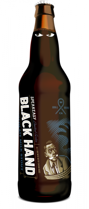 Black Hand by Speakeasy Ales & Lagers in California, United States