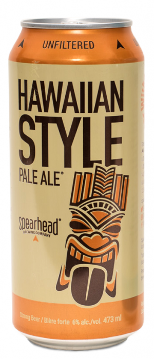 Hawaiian Style Pale Ale by Spearhead Brewing Company in Ontario, Canada