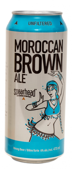 Moroccan Brown Ale by Spearhead Brewing Company in Ontario, Canada