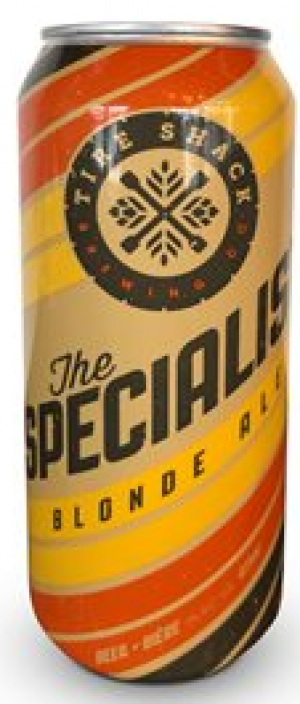 The Specialist by Tire Shack Brewing Co. in New Brunswick, Canada