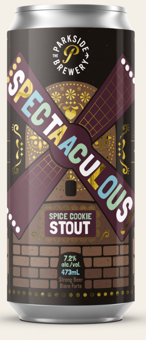 Spectaaculous Spice Cookie Stout by The Parkside Brewery in British Columbia, Canada