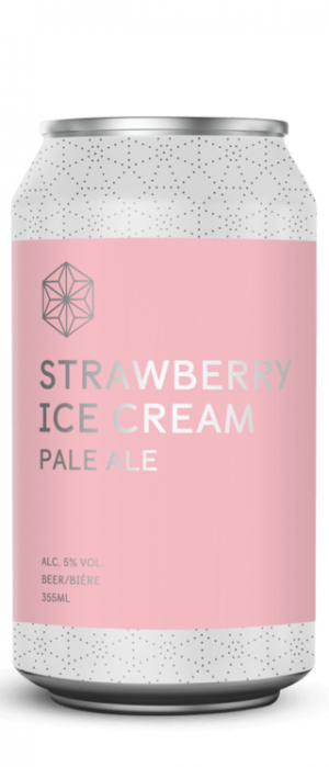 Strawberry Ice Cream Pale Ale by Spectrum Beer Company in British Columbia, Canada