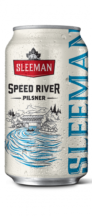 Speed River Pilsner by Sleeman in Ontario, Canada