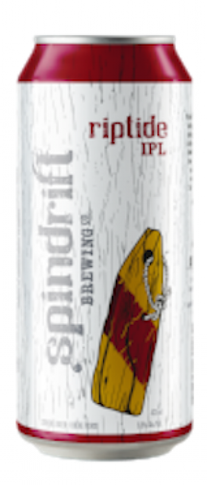 Riptide India Pale Lager by Spindrift Brewing Company in Nova Scotia, Canada