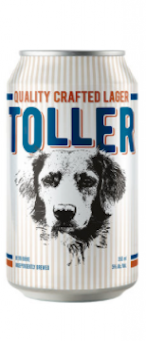 Toller Lager by Spindrift Brewing Company in Nova Scotia, Canada
