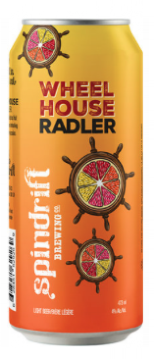 Wheel House Radler by Spindrift Brewing Company in Nova Scotia, Canada