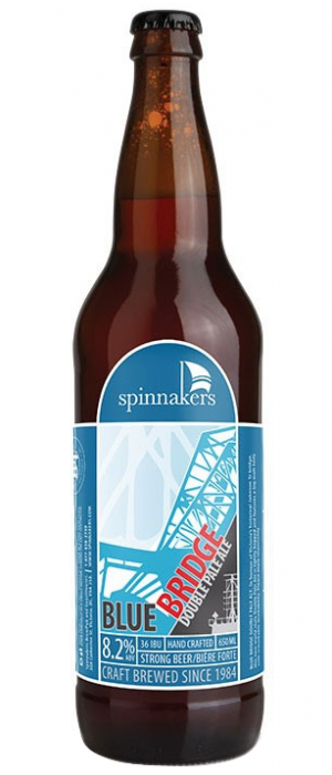 Blue Bridge Double Pale Ale by Spinnakers Brewpub & Guesthouses in British Columbia, Canada