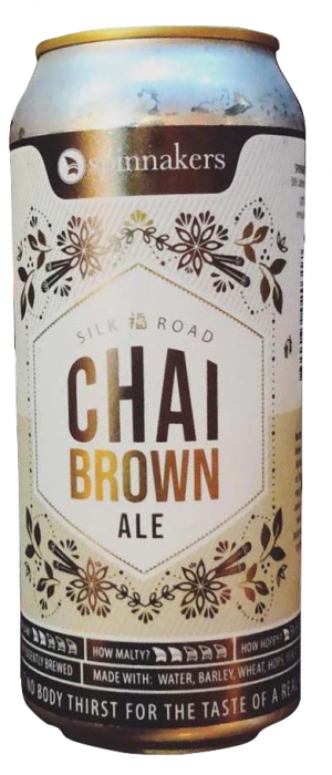 Chai Brown Ale by Spinnakers Brewpub & Guesthouses in British Columbia, Canada