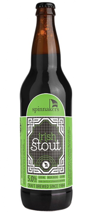 Irish Stout by Spinnakers Brewpub & Guesthouses in British Columbia, Canada