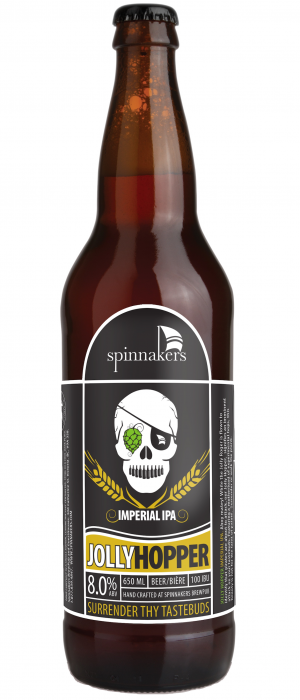Jolly Hopper Imperial IPA by Spinnakers Brewpub & Guesthouses in British Columbia, Canada