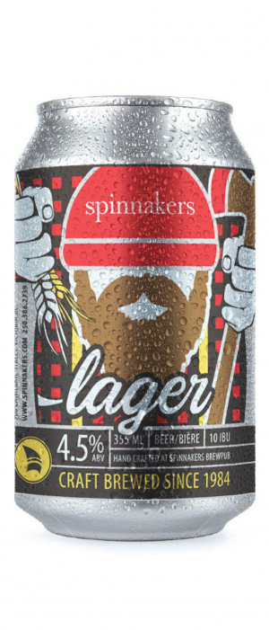 Lager by Spinnakers Brewpub & Guesthouses in British Columbia, Canada