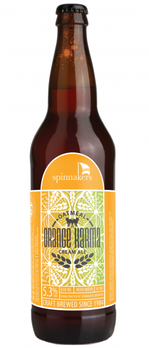 Orange Karma Oatmeal Cream Ale