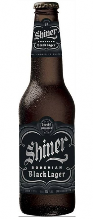 Shiner Bohemian Black Lager by Spoetzl Brewery in Texas, United States