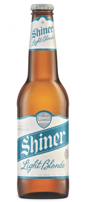 Shiner Light Blonde by Spoetzl Brewery in Texas, United States