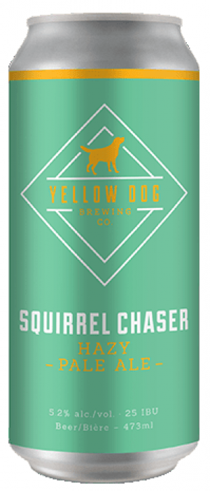Squirrel Chaser by Yellow Dog Brewing Company in British Columbia, Canada