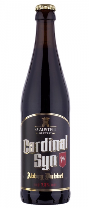 Cardinal Syn by St Austell Brewery in Cornwall - England, United Kingdom