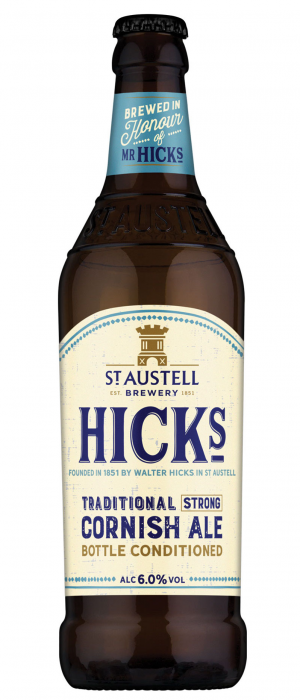 Hicks by St Austell Brewery in Cornwall - England, United Kingdom