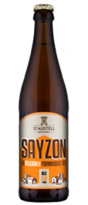 Sayzon by St Austell Brewery in Cornwall - England, United Kingdom