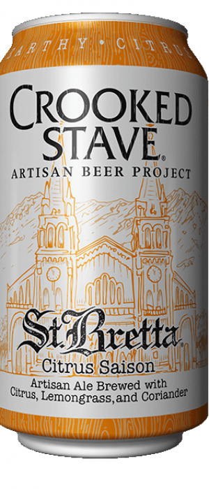 St. Bretta Citrus Saison by Crooked Stave Artisan Beer in Colorado, United States