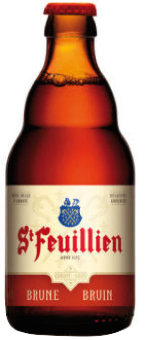 Brune Reserve by St. Feuillien Brewery in Flemish Brabant, Belgium