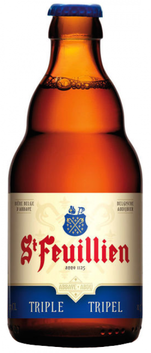 Triple by St. Feuillien Brewery in Flemish Brabant, Belgium