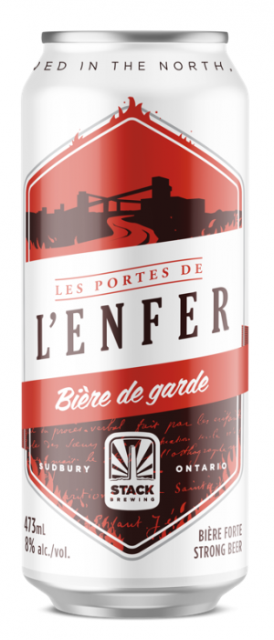 Les Portes de l'Enfer by Stack Brewing in Ontario, Canada