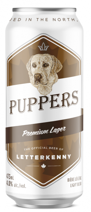 Puppers by Stack Brewing in Ontario, Canada