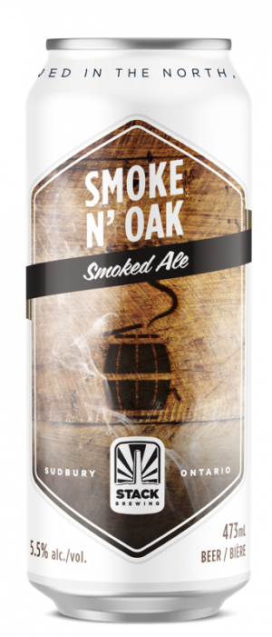 Smoke & Oak by Stack Brewing in Ontario, Canada