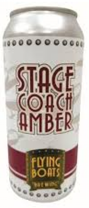 Stagecoach Amber Ale by Flying Boats Brewing in New Brunswick, Canada