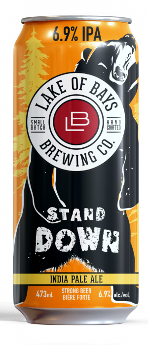 Stand Down by Lake Of Bays Brewing Company in Ontario, Canada